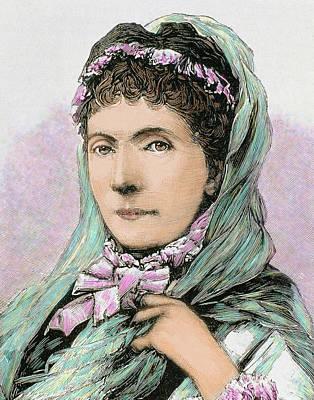 Fine Art Of Women Photograph - Augusta Of Saxe-weimar-eisenach by Prisma Archivo