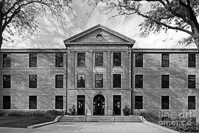 Diploma Photograph - Augustana College Carlsson Evald Hall by University Icons