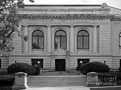 Diploma Photograph - Augustana College Denkmann Memorial Hall by University Icons
