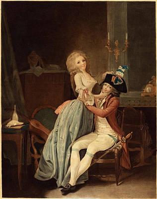 Auguste-claude-simon Legrand After Louis-léopold Boilly Art Print