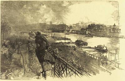 Auguste Lepère French, 1849 - 1918, The Seine Art Print