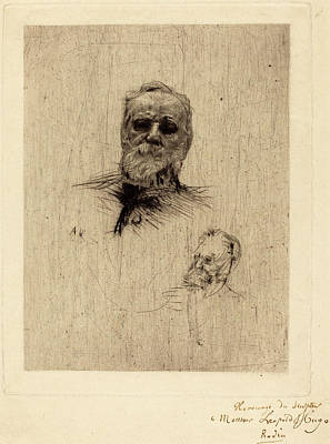 Auguste Rodin French 1840 1917 Victor Hugo
