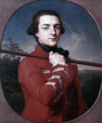 Grafton Painting - Augustus Henry Fitzroy (1735-1811) by Granger