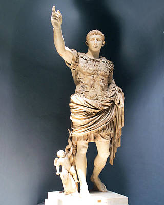 Painting - Augustus Prima Porta by Troy Caperton
