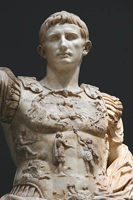 Vatican Photograph - Augustus Prima Porta. Vatican Museums by Bridgeman Images