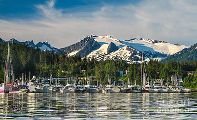 Auke Bay Art Print by Robert Bales