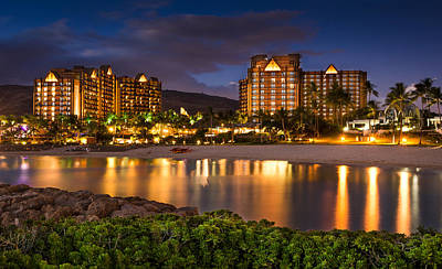 Aulani Disney Resort At Ko Olina Art Print