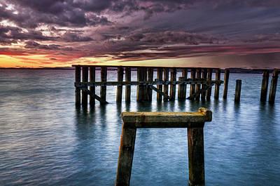 Photograph - Auld Granton Pier by Jean-Noel Nicolas