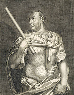 Black History Painting - Aullus Vitellius Emperor Of Rome by Titian