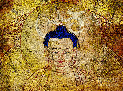 Photograph - Aum Buddha by Tim Gainey