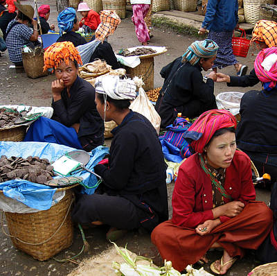 Monks Photograph - Aungban by RicardMN Photography