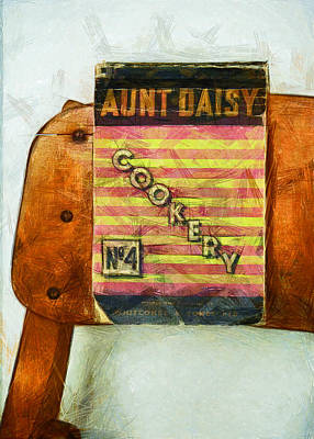 Antique Maps - Aunt Daisys Cookery No 4 by Steve Taylor