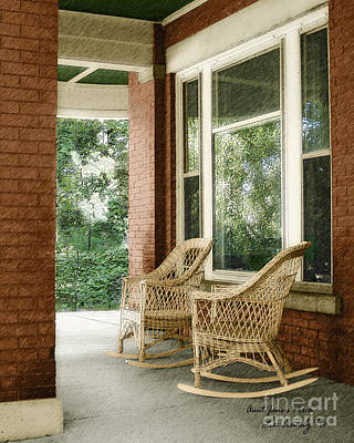 Aunt Jane's Porch Art Print