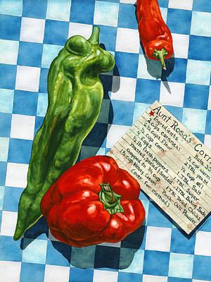 Painting - Aunt Rosa's Cornbread by Lynda Hoffman-Snodgrass