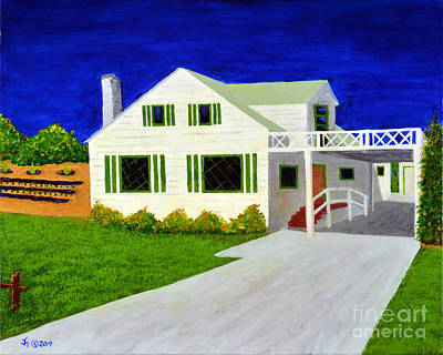 Painting - Auntie's House by Jack Hedges