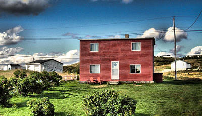 Photograph - Aunty Mays House Renews Nl by Douglas Pike