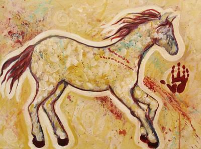 Painting - Aura Spirit Horse by Carol Suzanne Niebuhr