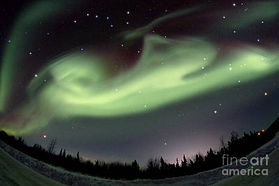 Photograph - Aurora Borealis Alaska 3212014 by John Chumack