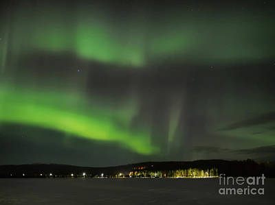 Photograph - Aurora Borealis by IPics Photography