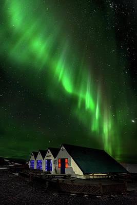 Colours Photograph - Aurora Borealis by Jes?s M. Garc?a