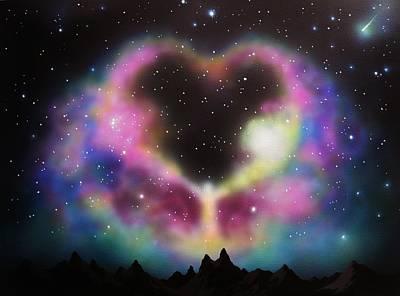 Aurora Borealis The Blessing Art Print