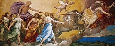 Reins Painting - Aurora by Guido Reni