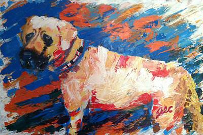 Mastif Painting - Aurora by Jesse Colton