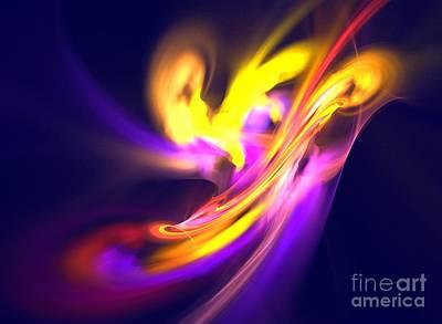 Kim Digital Art - Aurora by Kim Sy Ok