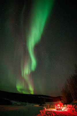 Photograph - Aurora Watching by Roger Clifford