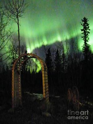 Auroral Arch Art Print