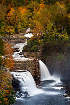 Photograph - Ausable Chasm by Mihai Andritoiu