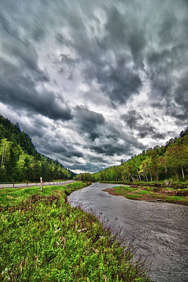 Ausable River 5297 Original by Guy Whiteley