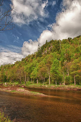 Ausable River 5494 Original by Guy Whiteley