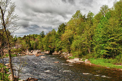 Ausable River 5500 Original by Guy Whiteley