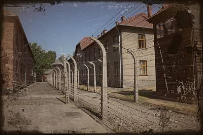 Photograph - Auschwitz - 96 by Rezzan Erguvan-Onal