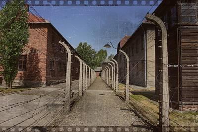 Photograph - Auschwitz - 98 by Rezzan Erguvan-Onal