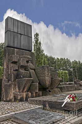 Photograph - Auschwitz Birkenau Memorial by Brenda Kean