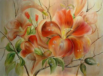 Tapyba Painting - Ausra Arts 4 by Ausra Jankauskiene