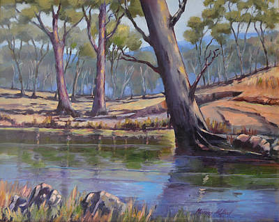 Painting - Aussie Billabong by Murray McLeod