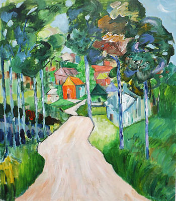 Painting - Aussie Countryside by Gloria Dietz-Kiebron