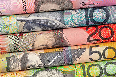 Photograph - Aussie Dollars 01 by Rick Piper Photography