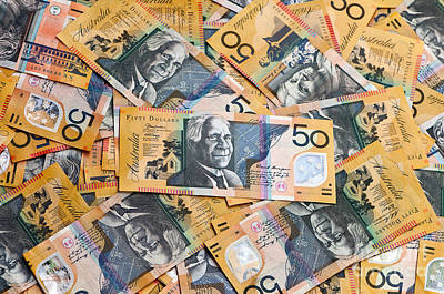 Photograph - Aussie Dollars 03 by Rick Piper Photography
