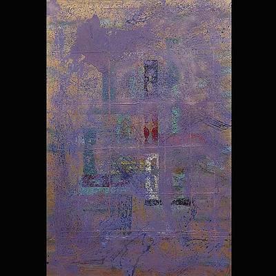 Napa Valley Vineyard Painting - Aussie II - Vin Adelaide by Lanny  Ross