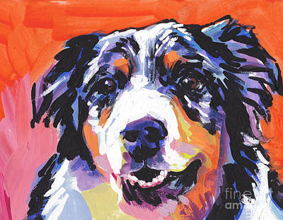 Bright Colors Painting - Aussie Luv by Lea S