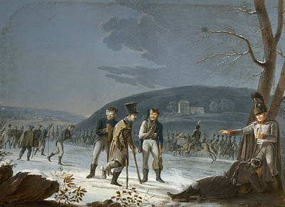 Cold War Painting - Austerlitz Prisoners by Granger