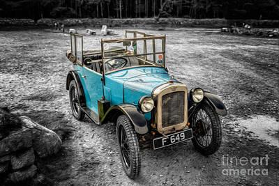 Crank Photograph - Austin 7 by Adrian Evans
