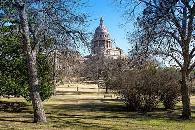 Photograph - Austin Capital Grounds by John Johnson