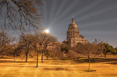 Photograph - Austin Capital by John Johnson