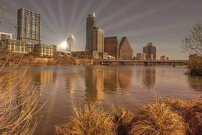 Photograph - Austin Downtown by John Johnson