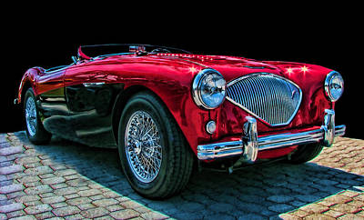 Photograph - Austin Healey 100m by Samuel Sheats